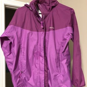 Marmot precip girls   RainJacket muti-color sz XL